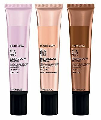 BRAND NEW The Body Shop Insta Glow CC Cream Collection RRP £42