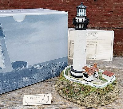 Harbour Lights Pigeon Point California #199 Lighthouse Figurine - New with Box