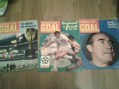 3 goal magazine1970 world cup  additions  no.94..97..99