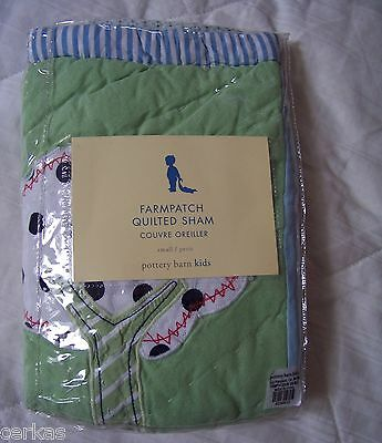 Pottery Barn KIDS PB Farmpatch quilted pillow sham