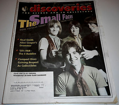 DISCOVERIES Music Magazine #177 - 2/03 - Small Faces, Neal Smith, 4 Buddies