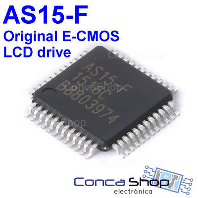AS15-F AS15 QFP48 Chip para T-CON Original - LCD Power chip E-CMOS - ESPAÑA