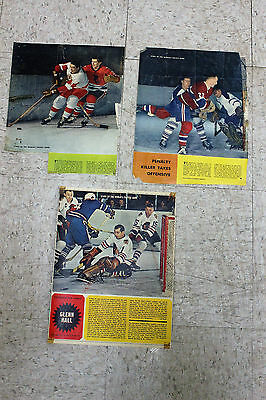 Lot of 27 Weekend Magazine Stars of the World's Fastest Game NHL Player Profiles