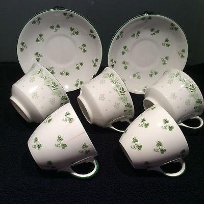 The Foley China Wileman Shelley Cups & Saucers