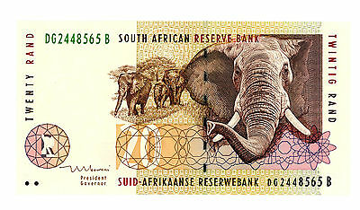 SOUTH AFRICA...   P-124b...   20 Rands...   ND(1999)...   *UNC*