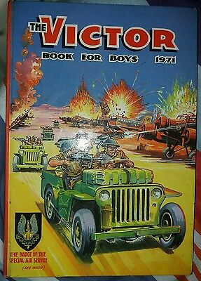 The Victor Book For Boys-1971 Annual VG/F CONDITION