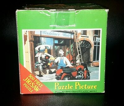 Wallace & Gromit 500 Piece Jigsaw Puzzle. A close shave.