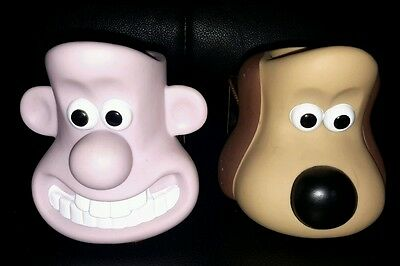 Wallace & Gromit Collectable Breakfast Egg & Toast Holders.