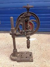 vintage Bradson No.5 pillar drill rare 2 speed model