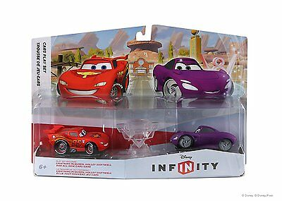 Disney Infinity Play Set Cars (Lightning McQueen, Holley Shiftwell y Playset)