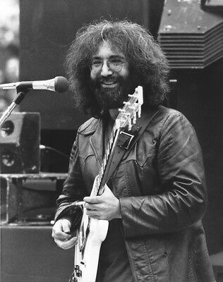 Grateful Dead Jerry Garcia In Concert Rock Band 8X10 Photo Picture Photograph #1