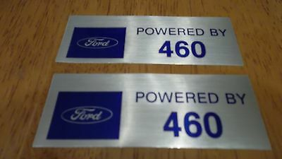 Ford 460 Valve Cover Decals