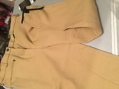"""Mountain Horse Isolde 32"""" Beige Breeches !!!Check Pictures for sizing"""