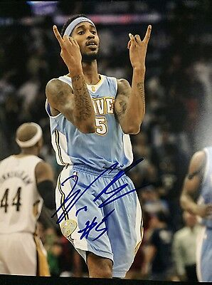 Denver Nuggets Will Barton Signed 8x10 Photo #2