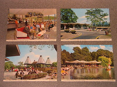 1960's Postcard Set Of Fortes Catering Hyde Park London