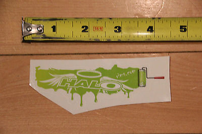 New Green Halo Rims Bicycle Sticker Decal for road mountain bikes