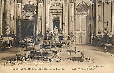 CPA Musee Jacquemart-Andre Salle II ( Grand Salon ) France