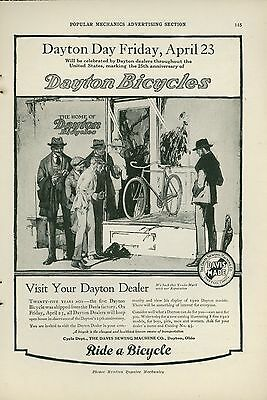1920 Dayton Bicycle Ad Celebrating First Day Bike Was Shipped From Factory