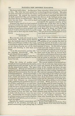 1880 Report on United States Navy USN Boats Ships History Current State