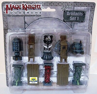 MAGE KNIGHT Dungeons ARTIFACTS SET 1 Sealed New WIZKIDS