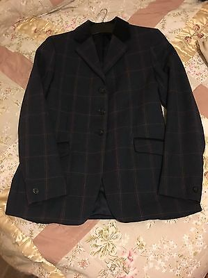 Pytchley Mears Hunt/show Jacket Size 31 Blue/navy Excellent Condition