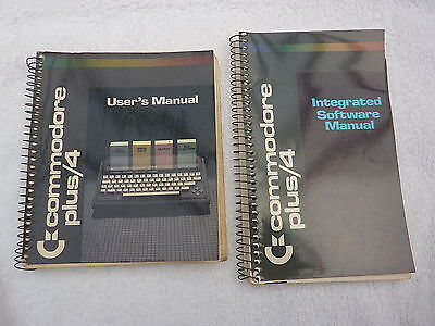 Commodore  - Plus 4 - User's Manual + Integrated Software Manual