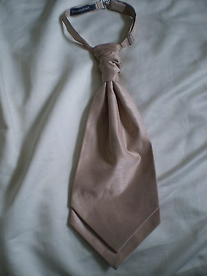 Men's wedding scrunch ruche tie