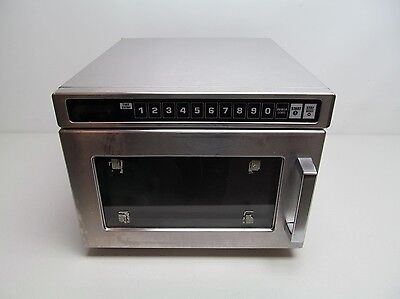 Amana 1800w Commercial Restaurant Microwave Heavy Duty Stainless Steel NSF