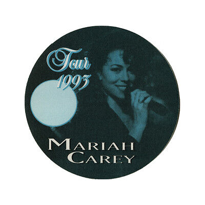 Mariah Carey authentic ALL ACCESS 1993 tour Backstage Pass