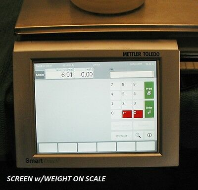 Mettler Toledo Impact M (Pact M) Deli Scale s Printer SMART TOUCH w/ Tall C/S
