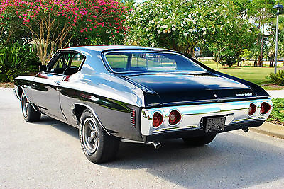 1972 Chevrolet Chevelle Heavy Chevy 4-Speed 350 V8 Very Rare! Must See! FREE Shipping in the Continental U.S.A