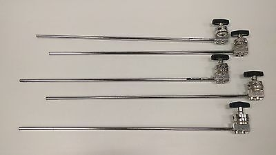 Lot of 5x Avenger D520L 40-inch Extension Arm (Chrome-plated) with Grip Heads