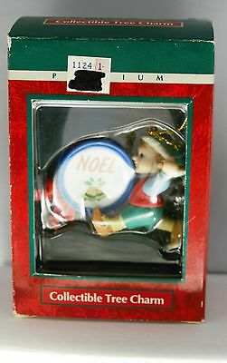 Trim a Home Premium - Elf with Drum Noel Christmas Ornament New In Box