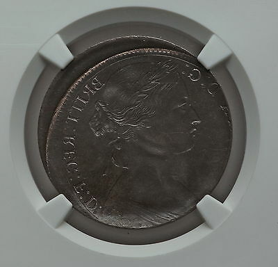 1817 Great Britain 6p George III Sixpence Mint Error NGC MS65 Brockage