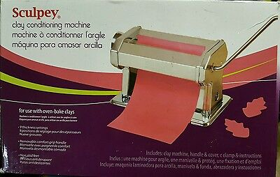 Sculpey Clay Conditioning Machine Item # ACLYMACH New in Box