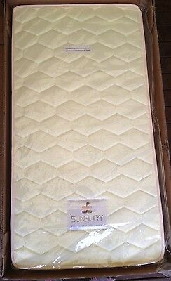 Baby Cot Mattress by Sunbury Innerspring 129 x 68 x 12cm New in Box