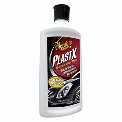 NEW Meguiars Polish Clear Plastic Cleaner G12310 PlastX  - 10 oz.