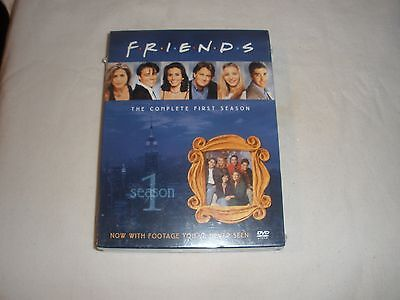 Friends - The Complete First Season (DVD, 2002, 4-Disc Set, NEW SEALED