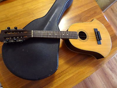 Lyon & Healy Rare American Conservatory Bell Tiple 10 String Washburn In Case