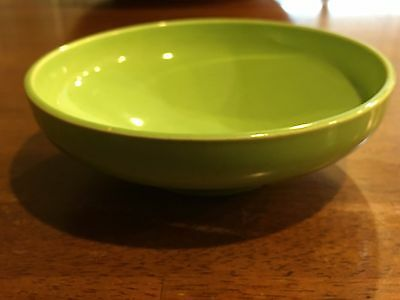 Vintage Cielo WARE LIME GREEN CEREAL DISH Bowl Made in California Mid Century