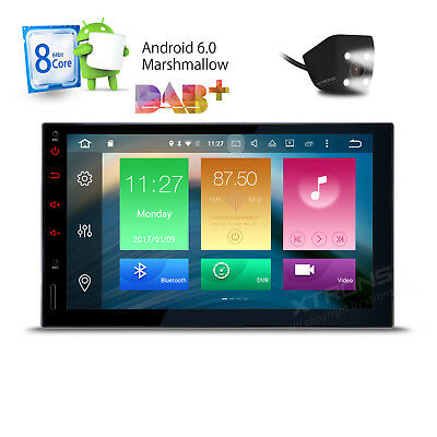 "7"" 1024*600 HD Android 6.0 2Din Car Stereo GPS Wifi 4G Radio DAB+ OBD2 Player"