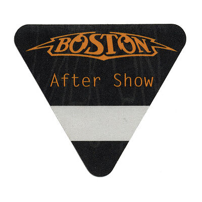 Boston authentic Aftershow 1994 tour Backstage Pass