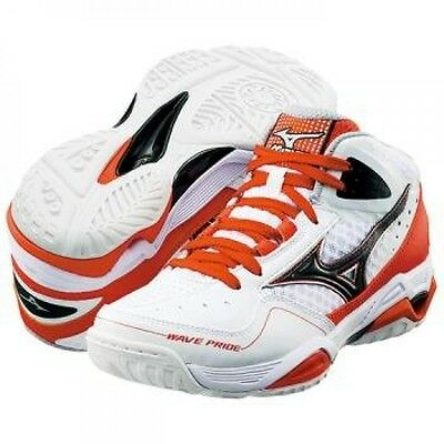 WAVE PRIDE BB2 Women's Basketball Shoes 13KL350 White X orange Mizuno Japan