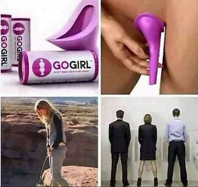 GoGirl Camping Urinal Go Girl Female Urination Device in Box for Emergency