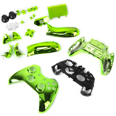 Full Housing Shell Case Replac Parts for Xbox One Wireless Controller -Green
