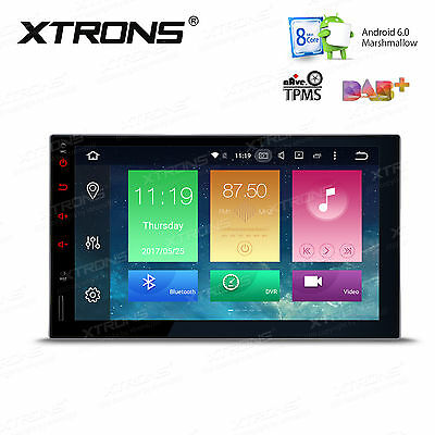 "Octa Core 7"" Android 6.0 Double 2DIN Car Stereo NON-DVD GPS Navigation Wifi OBD2"