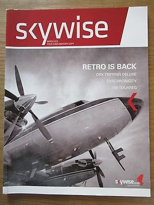 Skywise South African defunct LCC debut inflight magazine March 2015 Mint
