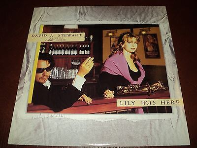 """David A Stewart / Candy Dulfer - Lily Was Here - 12"""" Single  in Picture Sleeve"""
