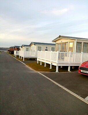 6/8 BERTH CARAVAN ON CARMARTHEN BAY HOLIDAY PARK IN WEST WALES July 22nd