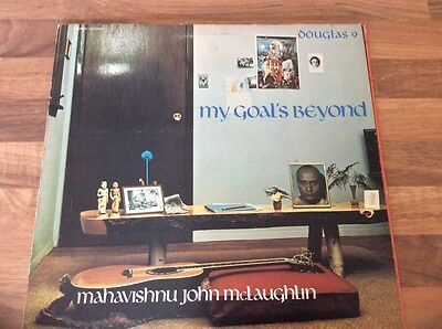 John McLaughlin My Goal's Beyond A1 B1 UK LP DGL 69014